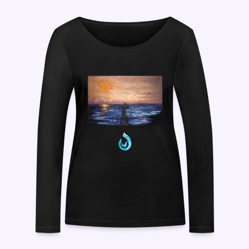 Sunrise - Maglietta a manica lunga ecologica da donna di Stanley & Stella