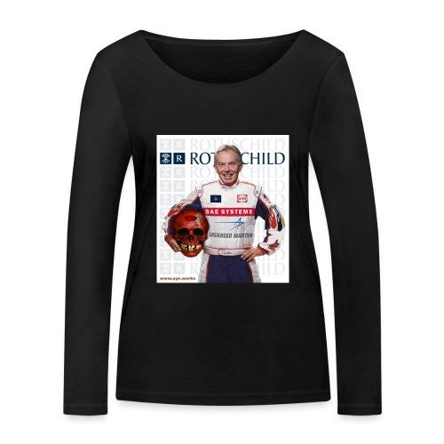 Inhuman Race - Women's Organic Longsleeve Shirt by Stanley & Stella