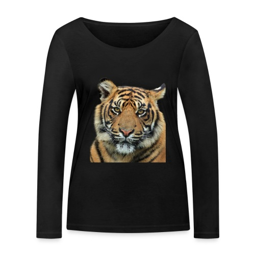 tiger 714380 - Maglietta a manica lunga ecologica da donna di Stanley & Stella