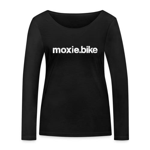 moxie.bike contour lines - Women's Organic Longsleeve Shirt by Stanley & Stella