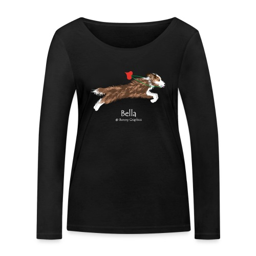 Custom design Bella - Women's Organic Longsleeve Shirt by Stanley & Stella