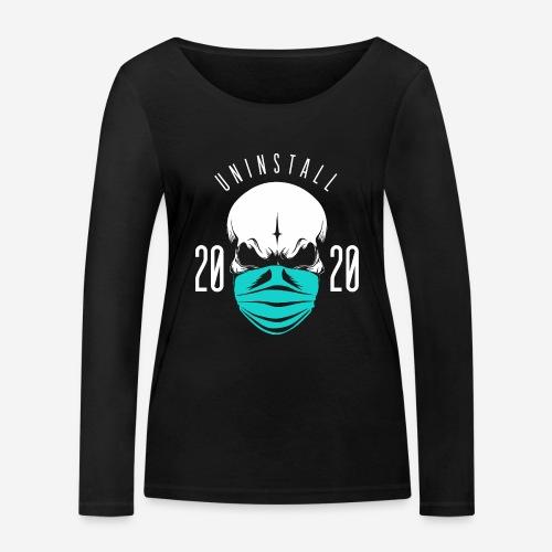 2020 deinstallieren - Frauen Bio-Langarmshirt von Stanley & Stella