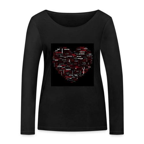 Heart - Women's Organic Longsleeve Shirt by Stanley & Stella