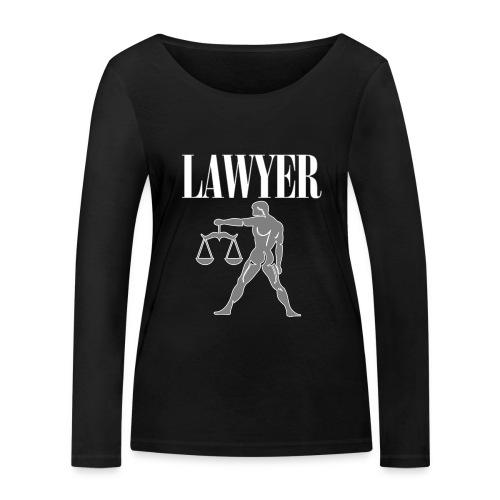 LAWYER hooded sweatshirt - Felpa avvocato - Women's Organic Longsleeve Shirt by Stanley & Stella