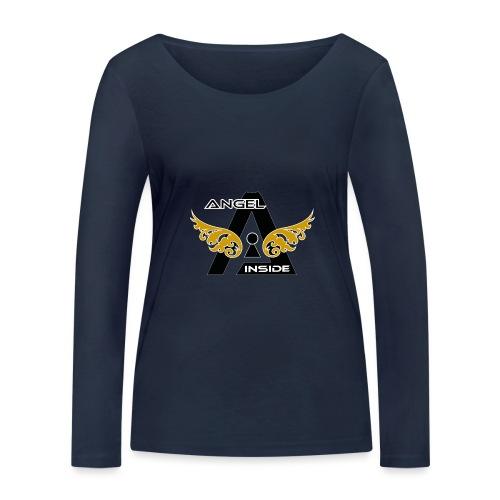 ANGEL INSIDE2-01 - Maglietta a manica lunga ecologica da donna di Stanley & Stella