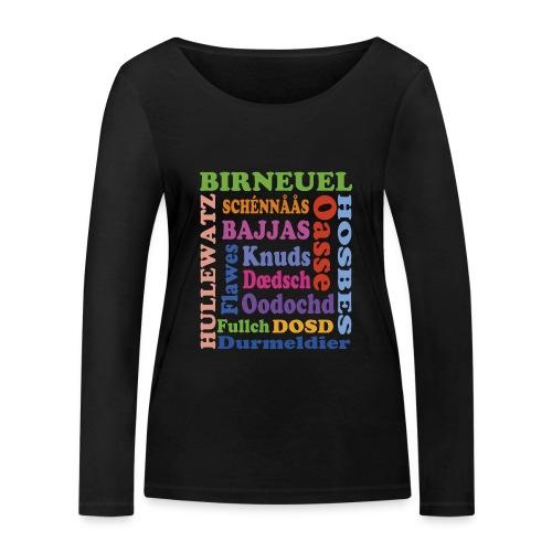 schimpf - Frauen Bio-Langarmshirt von Stanley & Stella