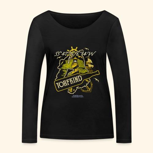 Whisky T Shirt Design Islay Single Malt Peat Torf - Frauen Bio-Langarmshirt von Stanley & Stella