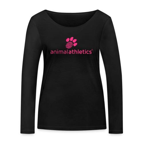 Animal Athletics Paw - Frauen Bio-Langarmshirt von Stanley & Stella