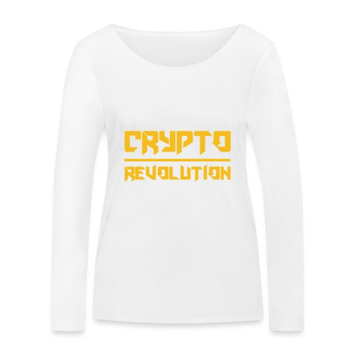 Crypto Revolution III - Women's Organic Longsleeve Shirt by Stanley & Stella