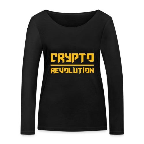 Crypto Revolution III - Women's Organic Longsleeve Shirt by Stanley & Stella