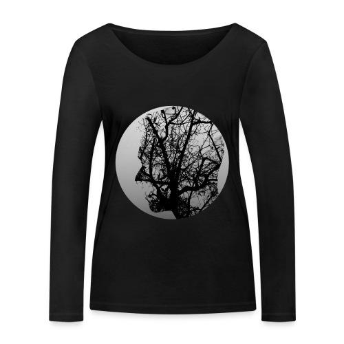 Think of nature - Women's Organic Longsleeve Shirt by Stanley & Stella