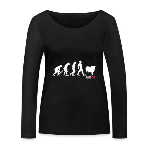 J'accuse (version light, par parek) - T-shirt manches longues bio Stanley & Stella Femme