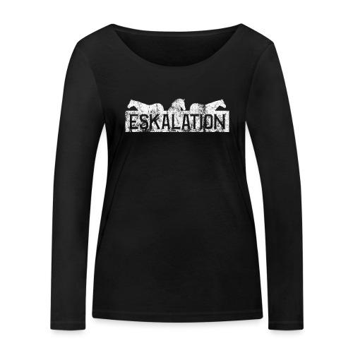 Eskalation - Frauen Bio-Langarmshirt von Stanley & Stella