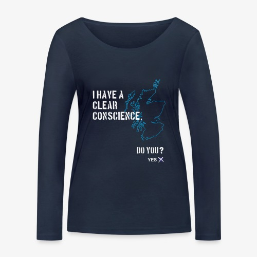 Clear Conscience - Women's Organic Longsleeve Shirt by Stanley & Stella