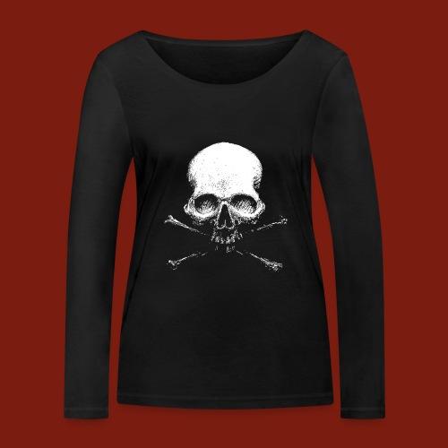 Old Skull - Women's Organic Longsleeve Shirt by Stanley & Stella