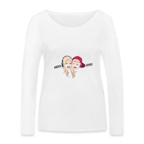 Enkel Logo - Økologisk langermet T-skjorte for kvinner fra Stanley & Stella