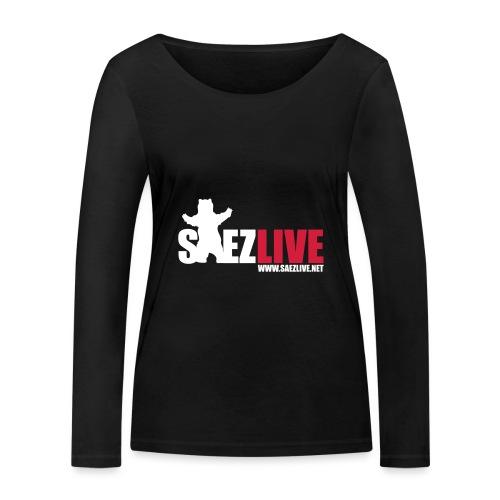 OursLive (version light) - T-shirt manches longues bio Stanley & Stella Femme