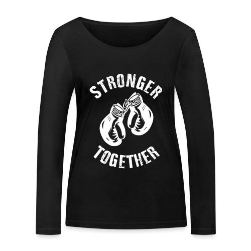 Stronger Together - Frauen Bio-Langarmshirt von Stanley & Stella