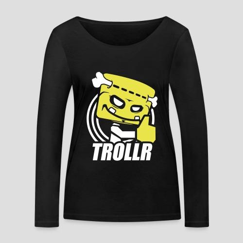 TROLLR Like - T-shirt manches longues bio Stanley & Stella Femme
