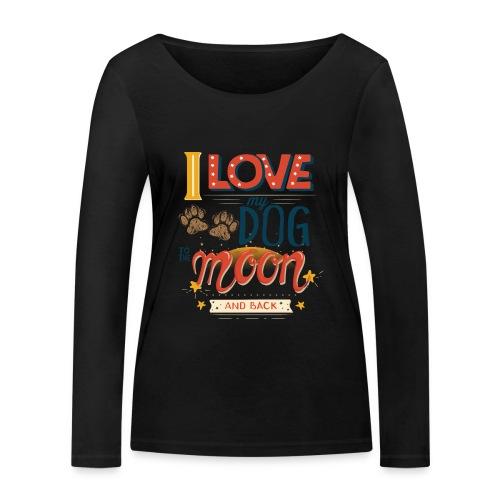 Moon Dog Light - Ekologisk långärmad T-shirt dam från Stanley & Stella
