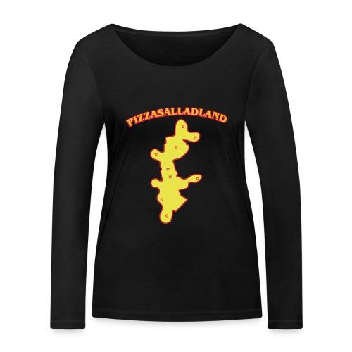 Pizzasalladland - Ekologisk långärmad T-shirt dam från Stanley & Stella
