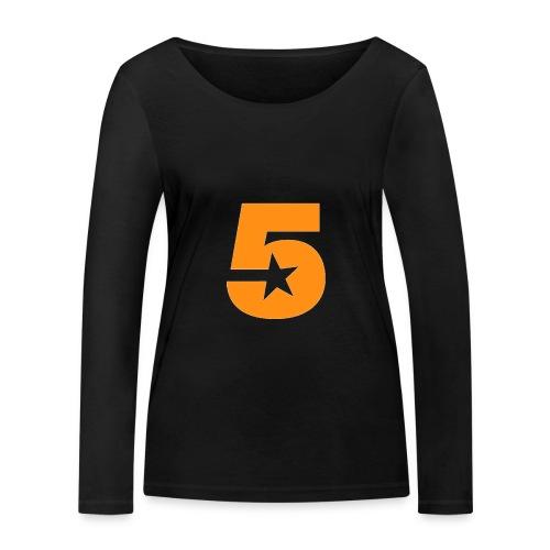 No5 - Women's Organic Longsleeve Shirt by Stanley & Stella
