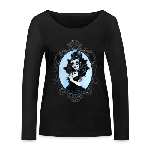 Model of the Year 2020 Lilith LaVey - Women's Organic Longsleeve Shirt by Stanley & Stella