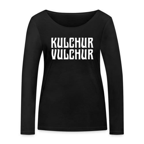 Kulchur Vulchur - Women's Organic Longsleeve Shirt by Stanley & Stella