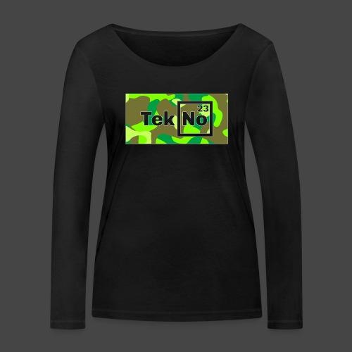 TEKNO 23 CAMOUFLAGE - Maglietta a manica lunga ecologica da donna di Stanley & Stella