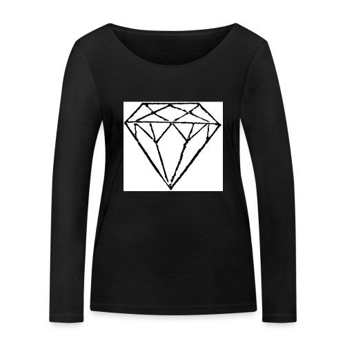 Diamond - Ekologisk långärmad T-shirt dam från Stanley & Stella