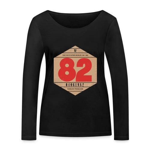 Vignette automobile 1982 - T-shirt manches longues bio Stanley & Stella Femme
