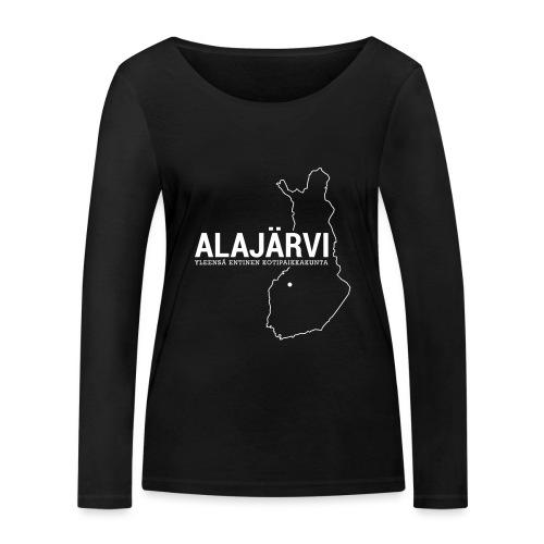 Kotiseutupaita - Alajärvi - Stanley & Stellan naisten pitkähihainen luomupaita