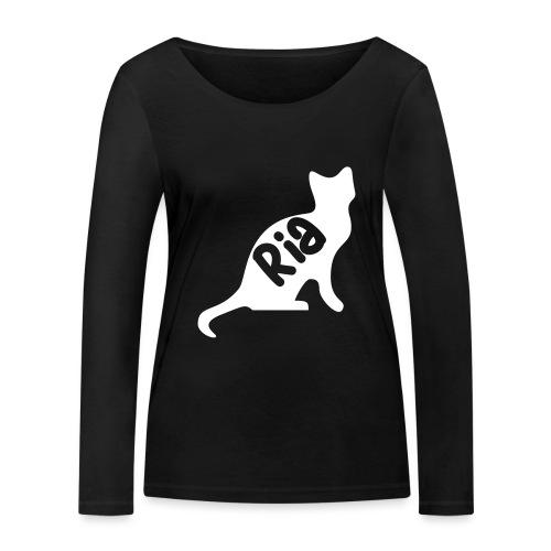 Team Ria Cat - Women's Organic Longsleeve Shirt by Stanley & Stella