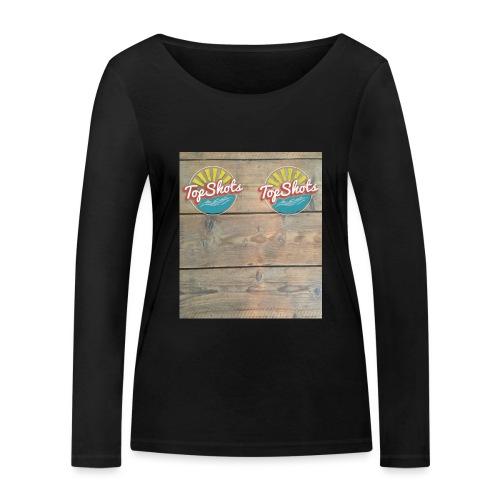 TenSlippers - Vrouwen bio shirt met lange mouwen van Stanley & Stella