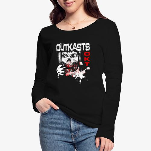 Outkasts Scum OKT Front - Women's Organic Longsleeve Shirt by Stanley & Stella