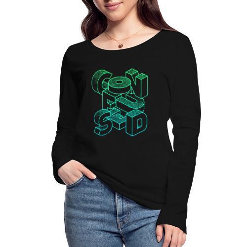Confused - Ekologisk långärmad T-shirt dam från Stanley & Stella