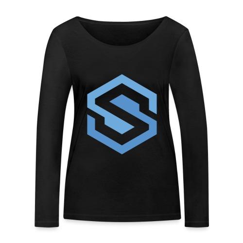 safecoin mark - Women's Organic Longsleeve Shirt by Stanley & Stella