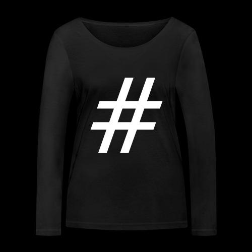 Hashtag Team - Frauen Bio-Langarmshirt von Stanley & Stella