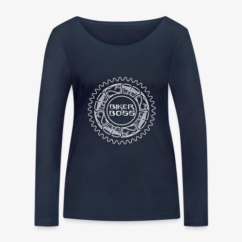 Bikerboss - T-shirt manches longues bio Stanley & Stella Femme