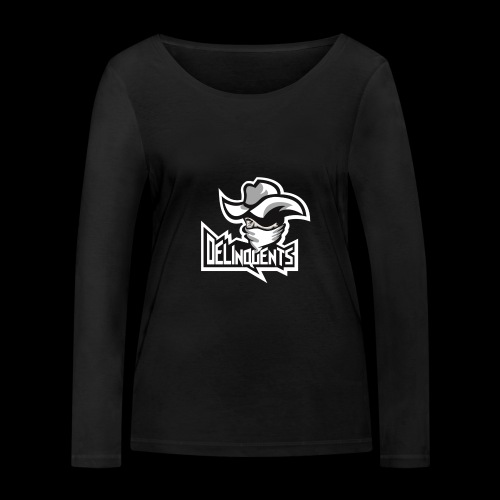 Delinquents TriColor - Økologisk Stanley & Stella langærmet T-shirt til damer
