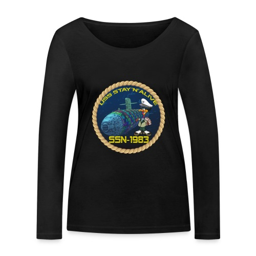 Command Badge SSN-1983 - Women's Organic Longsleeve Shirt by Stanley & Stella