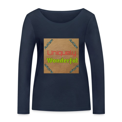 Autism statement - Women's Organic Longsleeve Shirt by Stanley & Stella