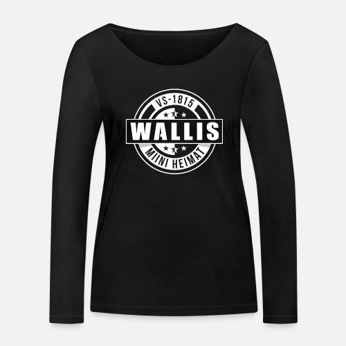 WALLIS - MIINI HEIMAT - Frauen Bio-Langarmshirt von Stanley & Stella
