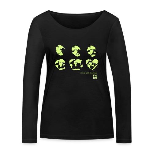 We're Still Moving - Continental Drift - Women's Organic Longsleeve Shirt by Stanley & Stella