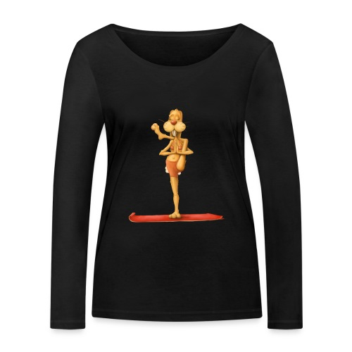 Yoga - Rabbit - Frauen Bio-Langarmshirt von Stanley & Stella