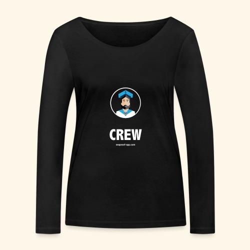 SeaProof Crew - Frauen Bio-Langarmshirt von Stanley & Stella