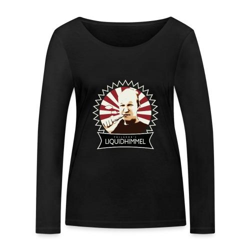 liquidhimmel_weiß - Frauen Bio-Langarmshirt von Stanley & Stella
