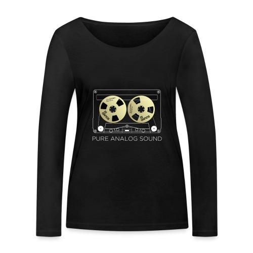 Reel golden cassette - Women's Organic Longsleeve Shirt by Stanley & Stella