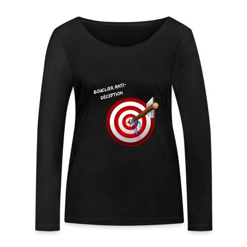 Bouclier anti-déception - T-shirt manches longues bio Stanley & Stella Femme