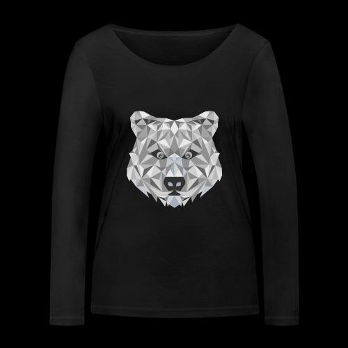 Bear-ish - Ekologiczna koszulka damska z długim rękawem Stanley & Stella